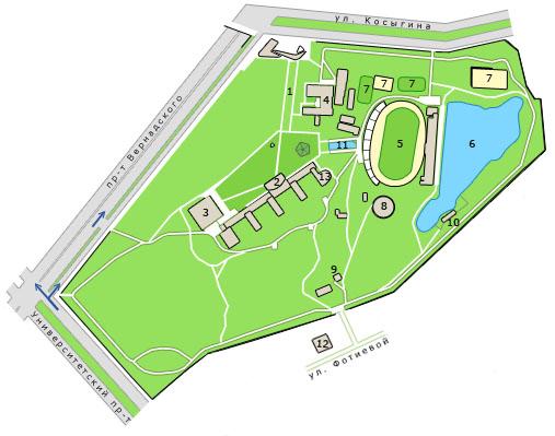 Стадион на косыгина 17 схема